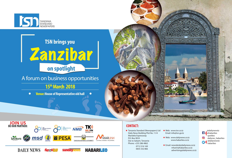 5th Tsn Business Forum In Zanzibar